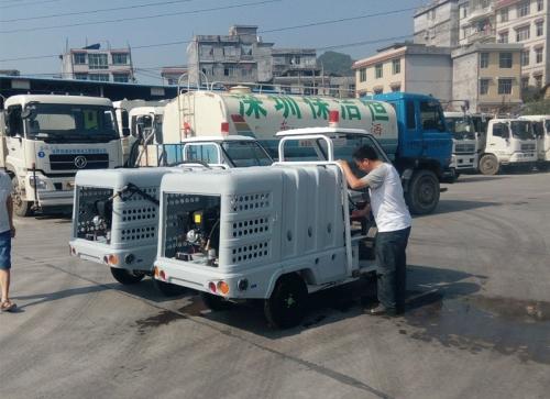 深圳保洁恒清洁恩施来凤分公司-电动保洁车