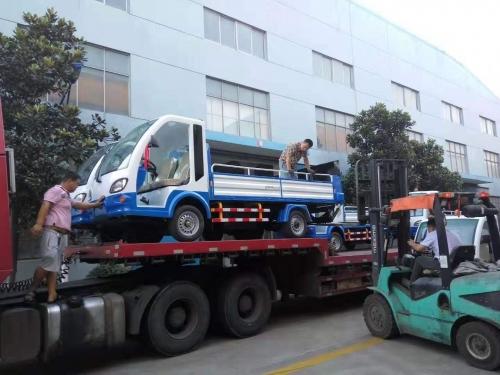福州美城环境-电动十桶清运车