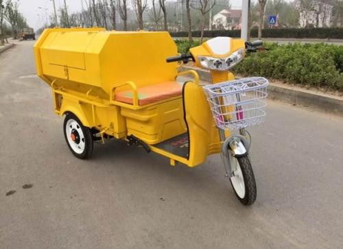 电动垃圾清运车的正确使用方法